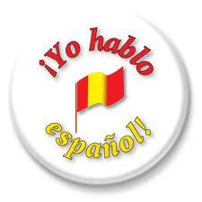 button hablo espanol