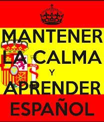 calma y aprender espanol