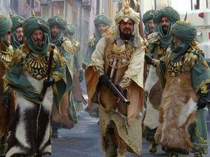 Moros y Cristianos feest Spanje