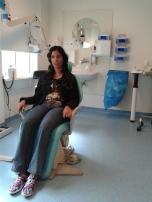 Leonor krijgt cortisonspuit 2 wkn v operatie