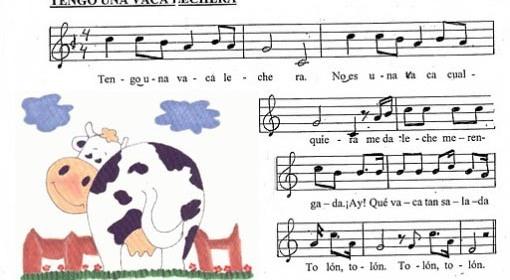 vaca-lechera-Spaans-kinderliedje-liedjes-Spaans