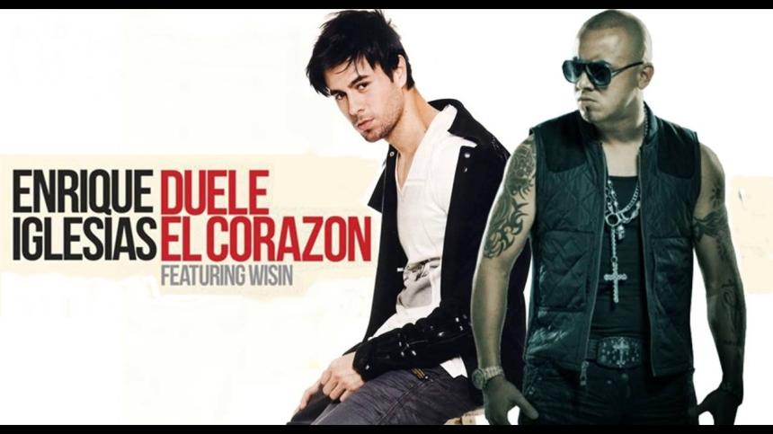 Enrique Iglesias ft. Wisin Duele el corazón, met Dederlandse vertaling en ondertiteling.