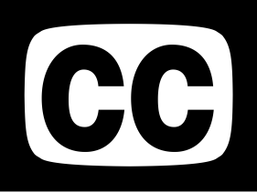 Closed Captions (CC) icoontje