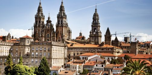 Kathedraal van Santiago de Compostela